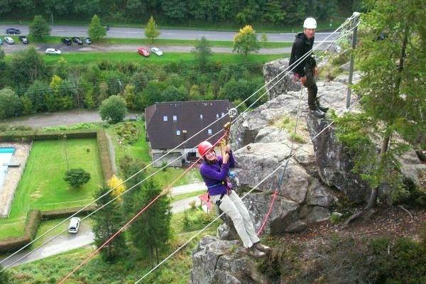Klettersteig Schwarzwald : Klettersteige klettersteigkurs